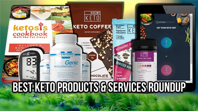 Best Keto Diet Products Services Shopping List